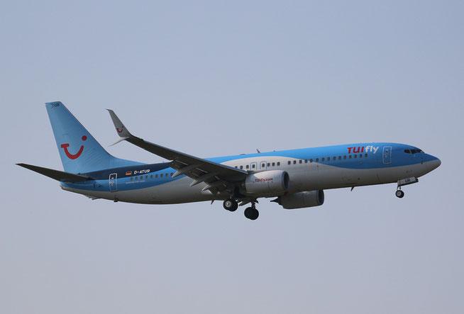 "B 737-8K5/W  "" D-ATUR "" TUIfly -1"