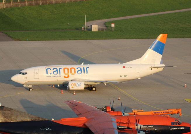 """B 737-35B  """" LZ-CGP """"  Cargo Air -2"""