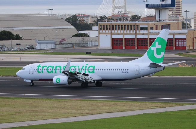 "B 737-8K2/W "" PH-HSW "" Transavia Airlines -2"