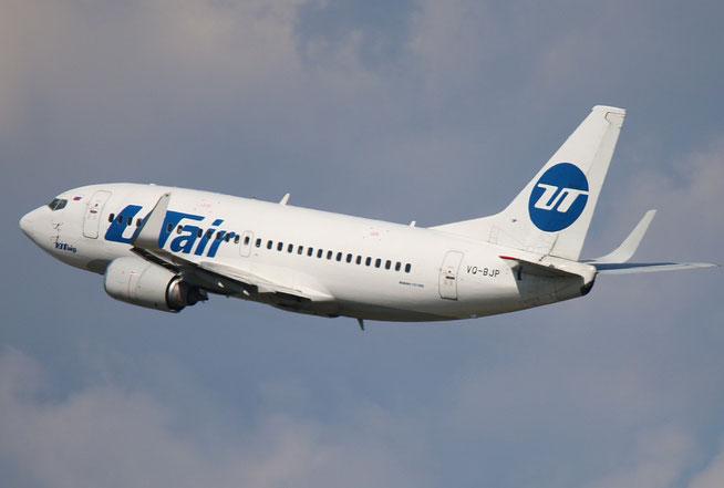 """B 737-524/W """" VQ-BJP """" UTair -1"""