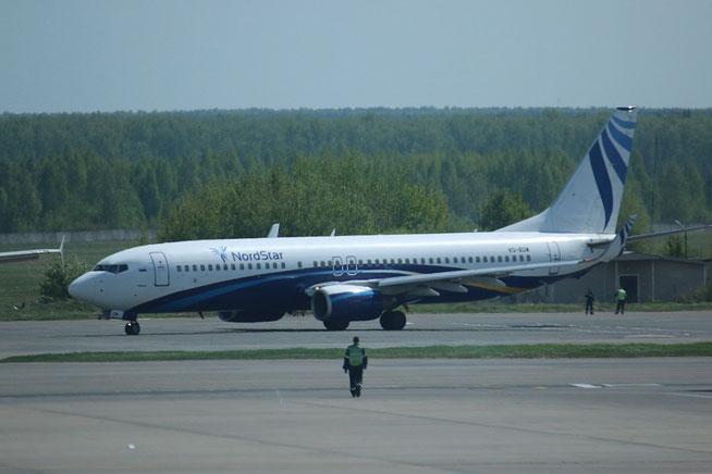 "B 737-8K5(WL)  "" VQ-BDW "" NordStar -1"