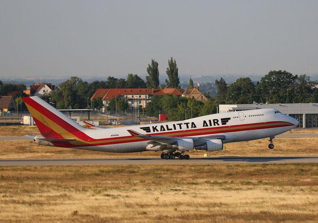 """B 747-446(BCF) """" N745CK """" Kalitta Air -3"""