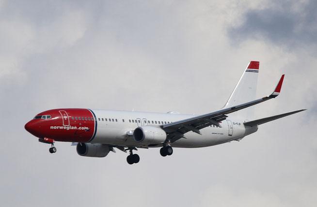 "B 737-8JP  "" EI-FJP ""  Norwegian -1"