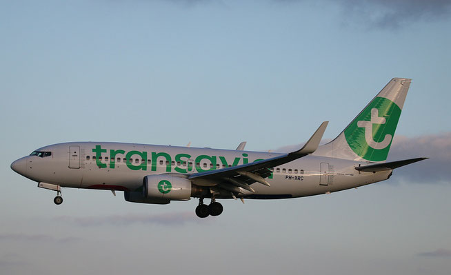 "B 737-7K2/W "" PH-XRC "" Transavia Airlines -1"