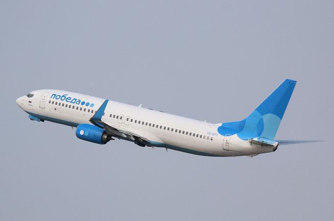 "B 737-8MA/W "" VQ-BTC ""  Pobeda -1"