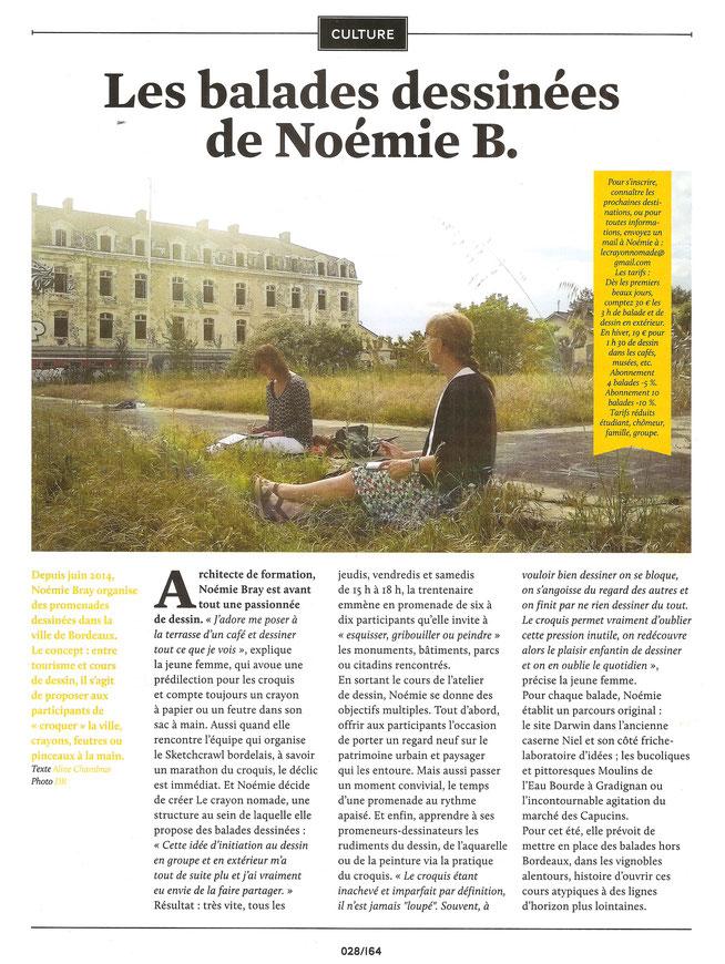 """Visite touristique et créative de Bordeaux, Cours, peinture, dessin, arts-plastiques, """"Vivre Bordeaux"""""""