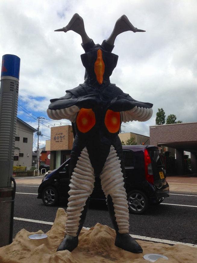 ゼットン 須賀川ウルトラマン通り(松明通り)