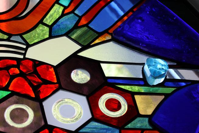 Glaskunst Fenster Franz Heili