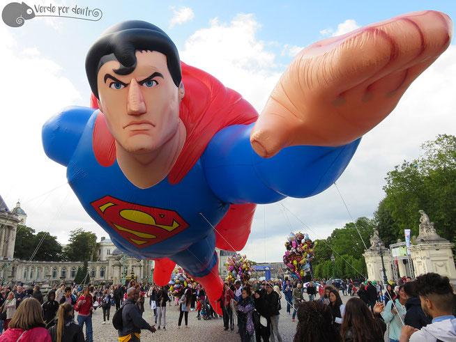 Superman en el Palacio Real!!!