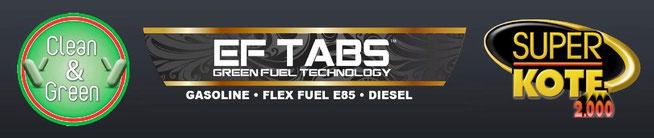 Clean & Green, EF TABS, Pastillas Ahorradoras de Gasolina