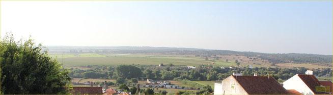 Vista da Varanda do Hotel Solar dos Lilases