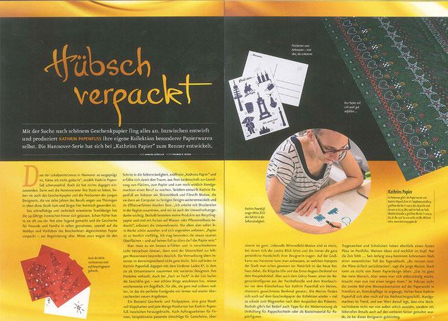 Artikel nobilis Kathrins Papier