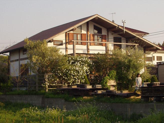 工房はーべすと 木の家 家具 木製玄関ドア ペイント 糸島