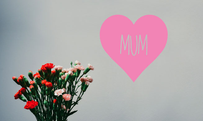 Mum love heart family vinyl wall art decals. They come in many colours and a mix match of sizes and family names. From wallartcompany.co.uk