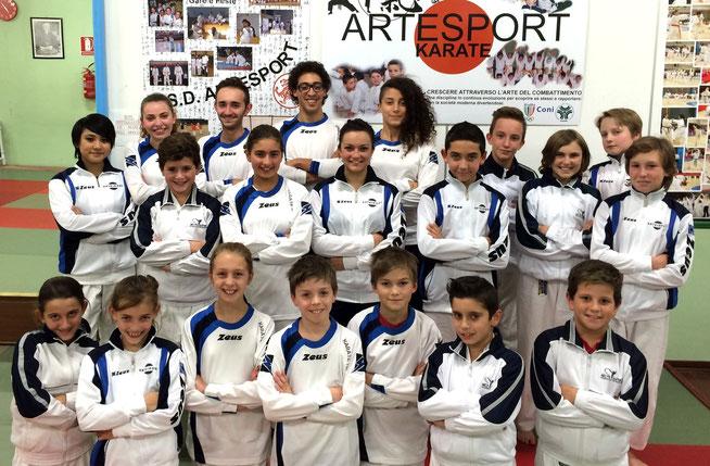 Squadra agonistica 2015/16