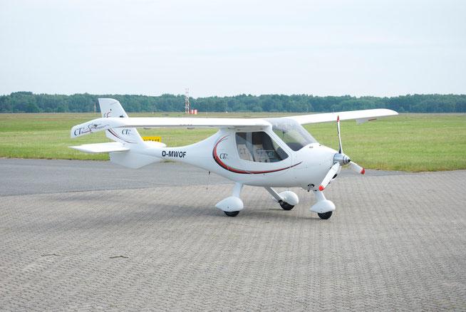 Das UL (Ultra Light) CTSW des Herstellers Flight Design aus der Ukraine