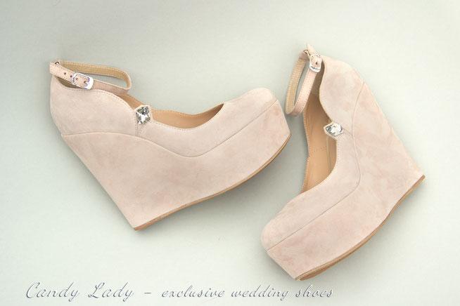 свадебные туфли на платформе Candy Lady Киев Москва Сочи Спб Днепр купить весільне взуття