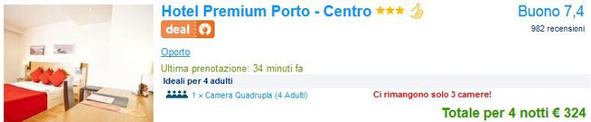 hotel capodanno Porto portogallo