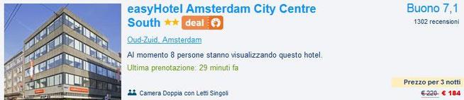hotel amsterdam offerta