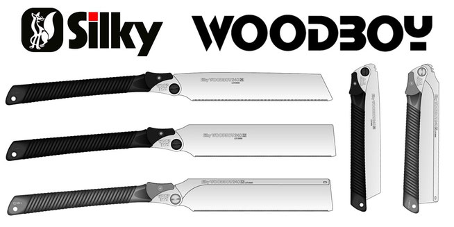 Handsäge Silky Woodboy