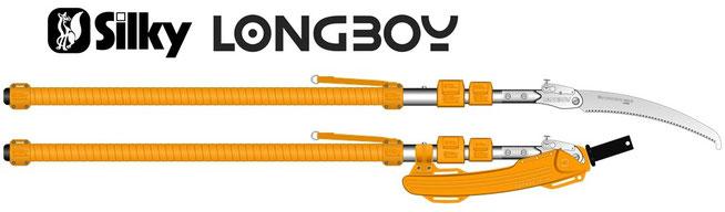 Teleskopsägen Silky Longboy
