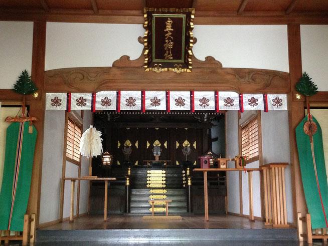 尼崎市皇大神社 社殿