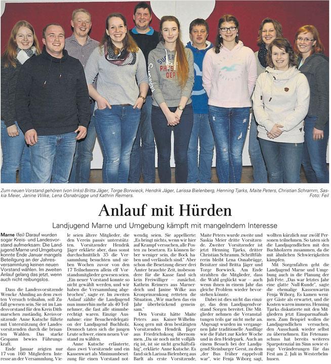 Marner Zeitung 23.03.2016