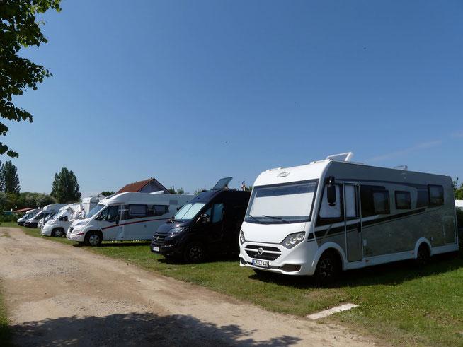 Leni und Toni mit dem Wohnmobil unterwegs im Coronasommer 2020 an der Ostsee