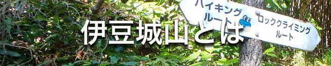 伊豆城山とは ロッククライミングルート