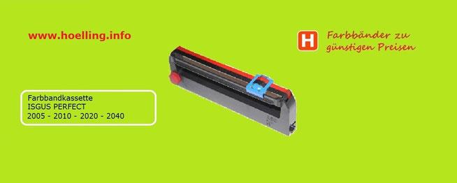 Farbbandkassette ISGUS PERFECT 2000   - Artikel-Nr.  9330201   Hölling Zeiterfassung