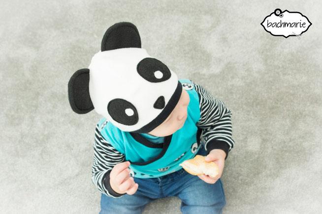 Pandamütze - kostenloses Schnittmuster - Website von my Fancywork