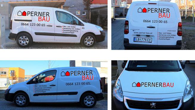 Damit wir noch schneller bei Ihnen sein können: Unser neues Firmenfahrzeug