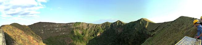 Am erloschenen Krater