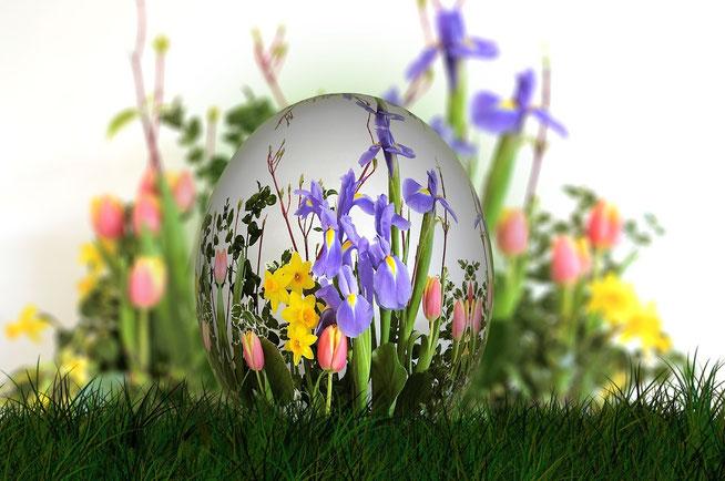 Euch allen wünsche ich Frohe Ostern. Genießt die Zeit...