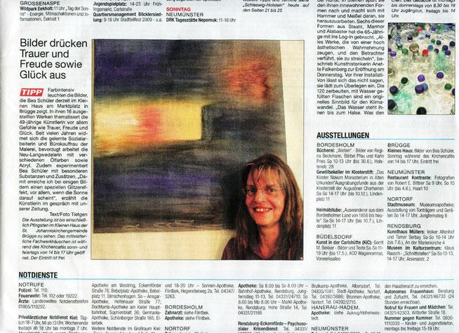 Mai 2009 Kieler Nachrichten