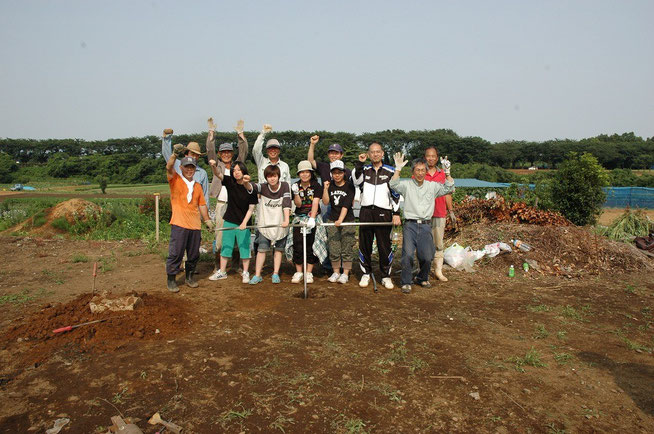 ヨコハマ市民町普請事業 瀬谷 高校生、市民グループと一緒に井戸掘り