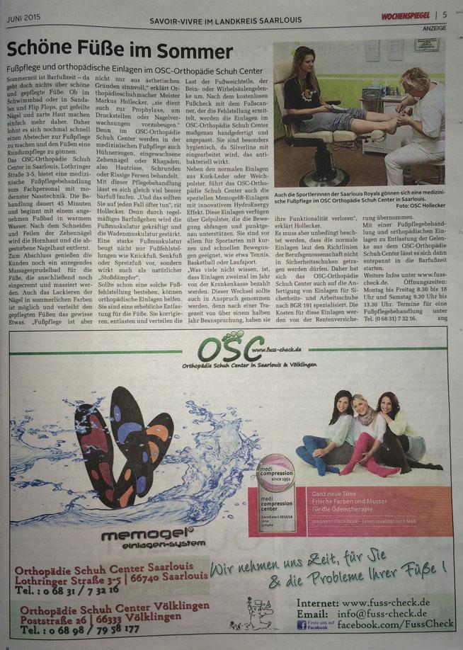 Wochenspiegel Juni 2015