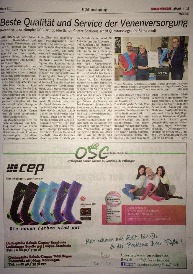 Wochenspiegel März 2015