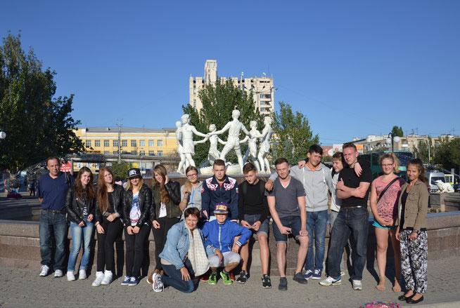 Fahrt nach Wolgograd, September 2014