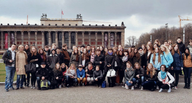 Schüleraustausch, März 2014 Berlin
