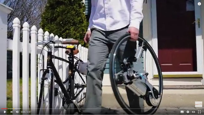 GeoOrbital Wheel | Make your bike electric in 60 seconds