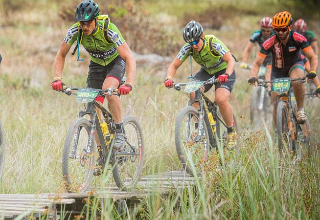 Gegenheimer (v.) und Schneitter © Brasil Ride