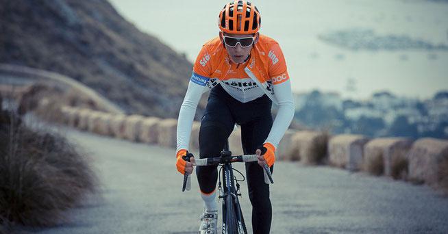 Nachwuchsfahrer Lennard Kämna © Stölting Radteam