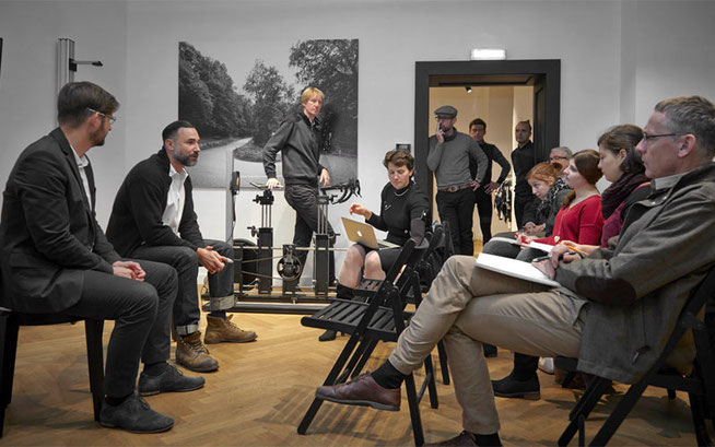 Pressekonferenz in Wien ©  Berliner Fahrradschau