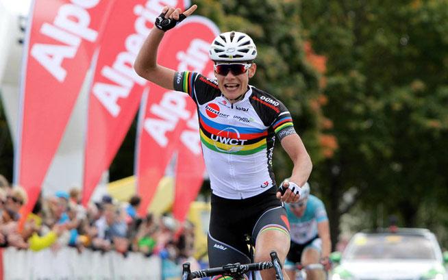 Christian Müller gewinnt die 3. Etappe © Achim Böckenkrüger