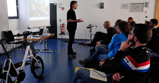 Eurobike Academy –der Martin ©Eurobike Friedrichshafen