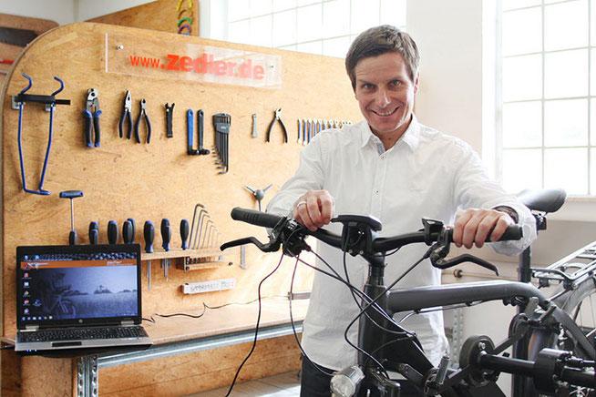 Dirk Zedler lädt zusammen mit der Kanzlei Reuschlaw Legal Consultants zum Business Brunch © Zedler – Institut für Fahrradtechnik und -Sicherheit GmbH