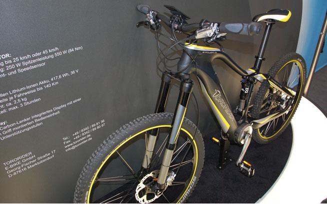 Der Stier unter den E-Bikes: Das Tororider mit Fendt Mittelmotor ist außergewöhnlich ©Velototal