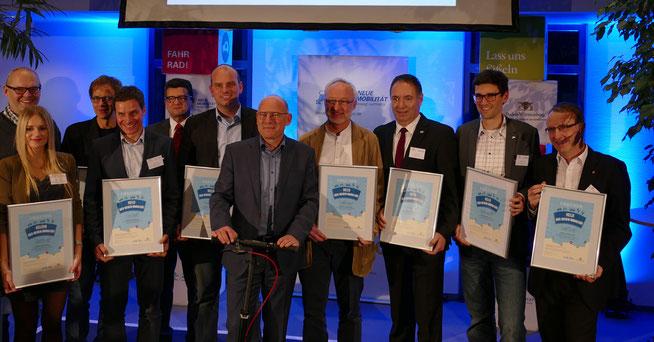 Die Preisträger ©Zedler-Institut