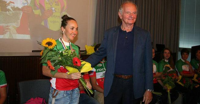 Vater des Colnago-Teams: Team-Präsident Erminio Bolgiani